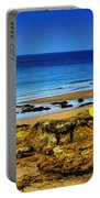 Early Morning On The Beach Portable Battery Charger