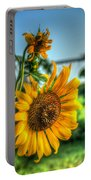 Early Morning Sunflower Portable Battery Charger