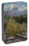 Early Snow Cascade Mountains Portable Battery Charger