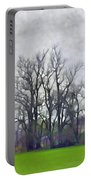 Early Spring Landscape  Digital Paint Portable Battery Charger