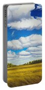 Early Summer Clouds Portable Battery Charger
