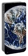 Earth Beauty Original Acrylic Painting Portable Battery Charger