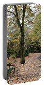 Earth Day Special - Bench In The Park Portable Battery Charger