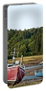 East Coast Low Tide Scene Portable Battery Charger