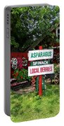 East End Farmstand Portable Battery Charger by Ed Weidman