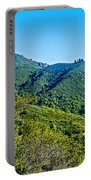 East Peak Of Mount Tamalpias-california Portable Battery Charger