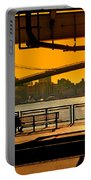East River Sunset Portable Battery Charger