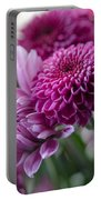 Easter Bouquet Flowers Mums And Dahlia Portable Battery Charger