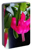 Easter Cactus Digtial Painting Square Portable Battery Charger