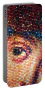 Easter Eggs Mosaic Portable Battery Charger