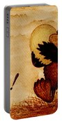 Easter Golden Egg Coffee Painting Portable Battery Charger