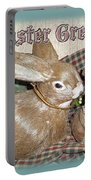 Easter Greetings - Bunnies Portable Battery Charger