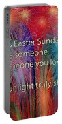 Easter Inspiring Digital Painting Portable Battery Charger