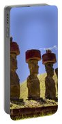 Easter Island Statues  Portable Battery Charger
