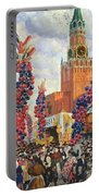 Easter Market At The Moscow Kremlin Portable Battery Charger