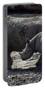 Eastern Black Rhinos Mama N Baby Portable Battery Charger