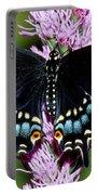 Eastern Black Swallowtail Butterfly Portable Battery Charger