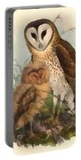 Eastern Grass Owl Portable Battery Charger