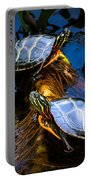 Eastern Painted Turtles Portable Battery Charger