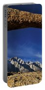 Eastern Sierra Nevada Mountains Lathe Arch Portable Battery Charger