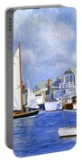 Easy Street Basin Blues Portable Battery Charger by Candace Lovely