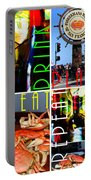 Eat Drink Play Repeat San Francisco 20140713 Horizontal Portable Battery Charger