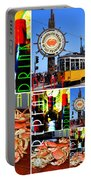 Eat Drink Play Repeat San Francisco 20140713 Vertical V2 Portable Battery Charger