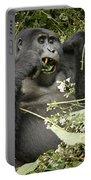 Eating Mountain Gorilla Portable Battery Charger