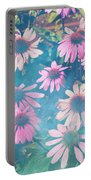 Echinacea Flowers Portable Battery Charger