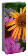 Echinacea Mango Meadowbrite Portable Battery Charger