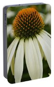 Echinacea Portrait Portable Battery Charger