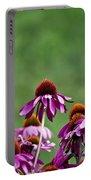 Echinacea Purpurea Portable Battery Charger