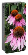 Echinacea Purpurea Or Purple Coneflower Portable Battery Charger