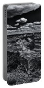 Echo Park From The Ridge Black And White Portable Battery Charger