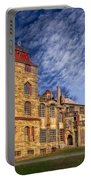 Eclectic Castle Portable Battery Charger by Susan Candelario