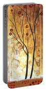 Eclectic Dream Original Painting Madart Portable Battery Charger