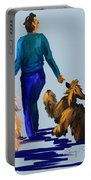 Eddie Dancing With Dogs Portable Battery Charger