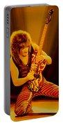 Eddie Van Halen Painting Portable Battery Charger