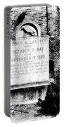 Edgar Allen Poe Grave Site Baltimore Portable Battery Charger