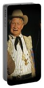 Edgar Buchanan Chills Wills  Johnny Cash Porch Old Tucson Arizona 1971-2008 Portable Battery Charger