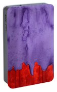 Edge Of The West Original Painting Portable Battery Charger