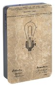Edison Electric Lamp Patent Marble Portable Battery Charger