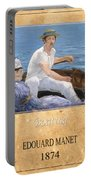 Edouard Manet 4 Portable Battery Charger