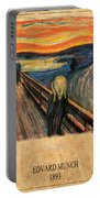 Edvard Munch 1 Portable Battery Charger