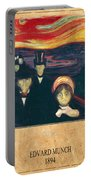 Edvard Munch 2 Portable Battery Charger