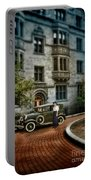 Edwardian Lady By Car Portable Battery Charger