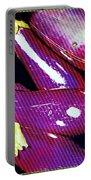 Eggplants Are Beautiful Works Of Art Portable Battery Charger