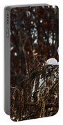 Egret In Hiding Portable Battery Charger
