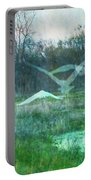 Egret In Retreat Portable Battery Charger