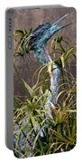 Egret Statue Portable Battery Charger